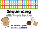 Sequencing using Simple Recipes