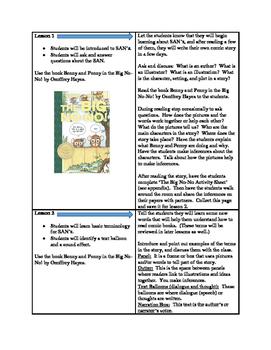 Reading: Comic Book Unit