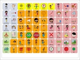 AAC - Sequential Core Vocabulary Boards (Ranging from 6 -