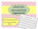 Sequential Order Reading and Writing Graphic Organizer