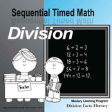 Sequential Timed Math© Division Facts Fluency Program