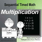 Sequential Timed Math© Multiplication Facts Fluency Program