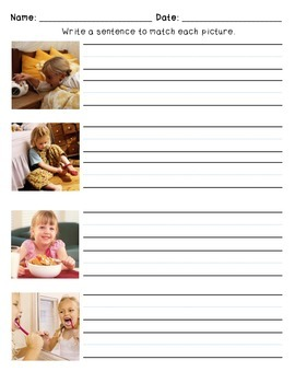 Sequential Writing With Pictures