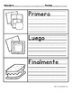Sequential Writing in Spanish (Escritura de secuencias Primero, luego, al final)
