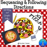 Making Pizza: Sequencing Craft (Distance Learning)