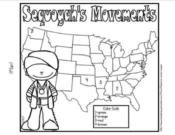 Sequoyah Cherokee Alphabet Bundle