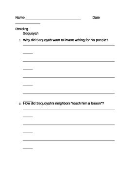 Sequoyah Test