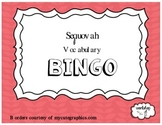 Sequoyah Vocabulary BINGO