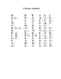 Sequoyay and the Cherokee Alphabet