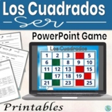 Ser Practice (Spanish): Game, animated, interactive, practice PowerPoint
