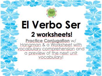 Ser Conjugation Practice