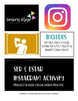 Ser & Estar Instagram Activity