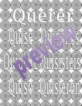 Ser, Estar, Tener, Querer, Ir - PRETERITE - Spanish adult coloring pages BUNDLE