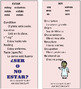 Ser Estar study sheet cheat sheet BOOKMARKS