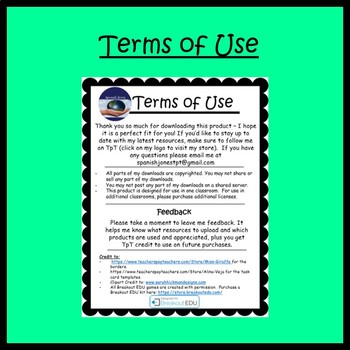 Ser Guided Notes and Key (Spanish Present Tense)