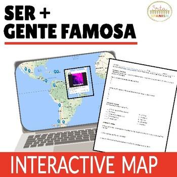 Ser + Origins: Online Interactive Map Activity