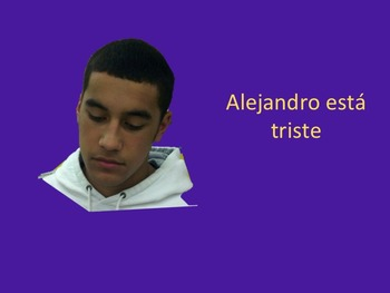 "Spanish ""Ser"" PowerPoint, TPR Story & INB"