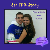 Spanish SER PowerPoint | TPR Story and Interactive Noteboo