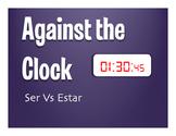 Ser Vs Estar Against the Clock