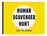 Ser Vs Estar Human Scavenger Hunt