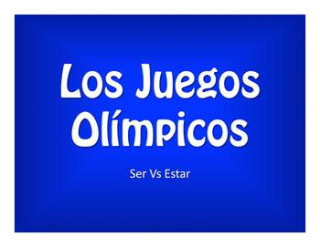 Ser Vs Estar Olympics