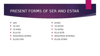 Ser and Estar- Everything You Need to Know