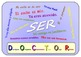Ser and Estar  Poster Set .One A3 Poster for each verb.