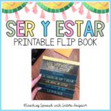 Ser and Estar Spanish Flipbook - Interactive Notebook