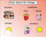 Ser and Estar Spanish SMART Board Lesson