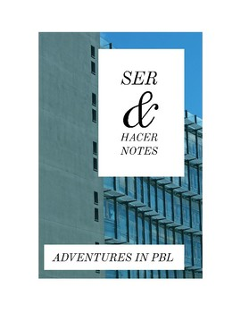 Ser and Hacer Notes