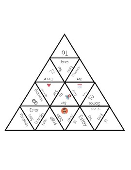 Ser o Estar Triangle puzzle