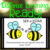 Ser Estar Practice DOCTOR PLACE To Be - PPT - Spanish Version