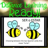 To BEE SER vs ESTAR Spanish Presentation Distance Learning