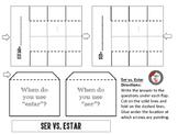 Ser vs. Estar Interactive Notebook Page