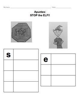 Ser vs. Estar - PowerPoint, Hook activity, and Note page