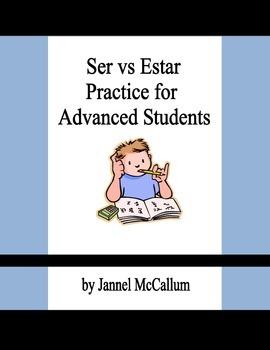 Ser vs Estar Practice for Advanced Students