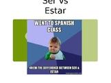 Ser vs Estar (Spanish 1/2)