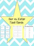 Ser vs. Estar Spanish Task Cards
