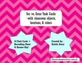 Ser vs. Estar Task Cards