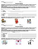 Ser with Adjectives Speaking Activity