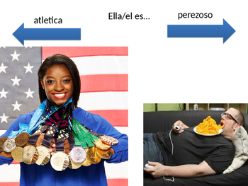 Ser y Estar en Español Describe Self & Others
