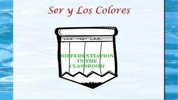 Ser y Los Colores/ Differentiation