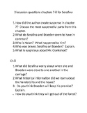 Serafina and the Black Cloak Chapter 7 questions