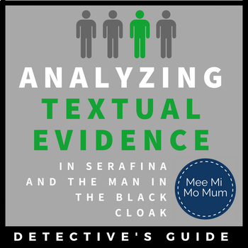 Serafina and the Black Cloak: Evidence Guide