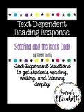 Serafina and the Black Cloak Text Dependent Reading Respon