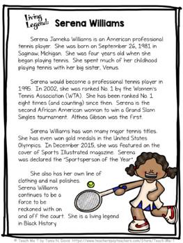 Serena Williams Close Reading