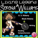 Serena Williams Close Reading Passages| Black History