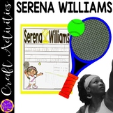 Serena Williams Venus Williams Arthur Ashe Tennis Craft Activity (Black History)