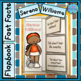 Serena Williams Women's History Month Activities Project E