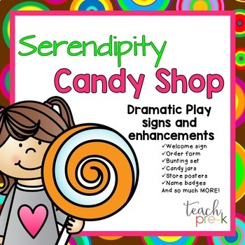 Candy Shop Dramatic Play